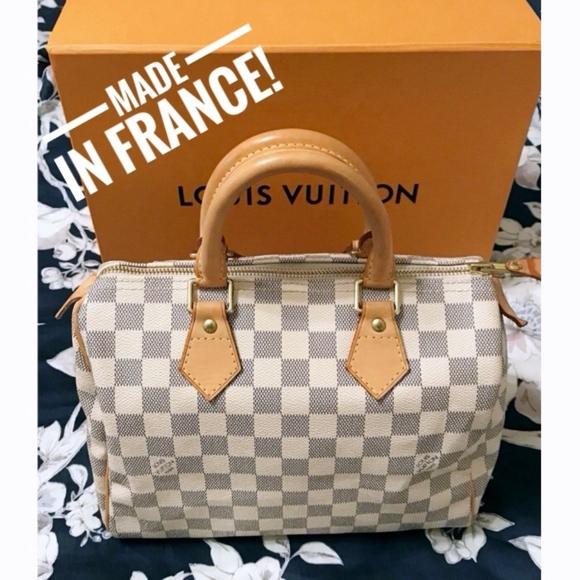 Louis Vuitton Handbags - LOUIS VUITTON Speedy 25 Damier Azur